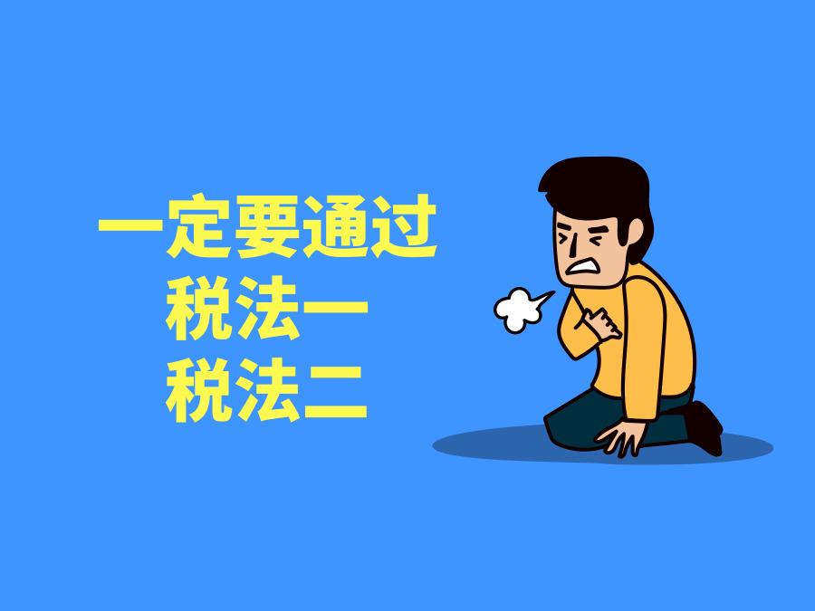2019年税务师税法一、税法二复习计划!