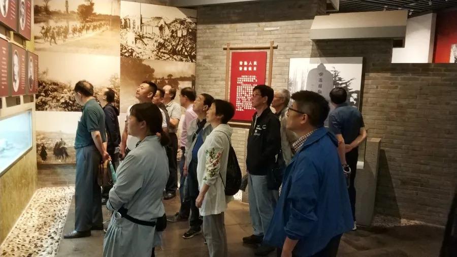 上海青瑞税务师事务所党支部组织参观沙家浜红色教育示范基地