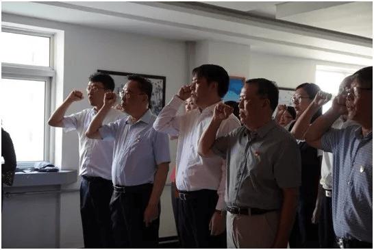 天津市注册税务师行业党委联合中信银行天津分行党委共建主题
