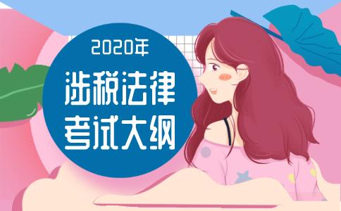2020年《涉税服务相关法律》考试大纲!