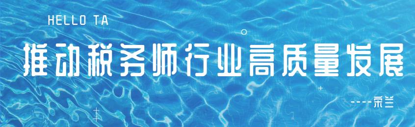中税协会长宋兰:承前启后 推动税务师行业高质量发展